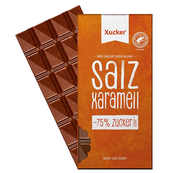 XUCKER Salz-Karamel XALTY. Xaramel Xucker Schokolade