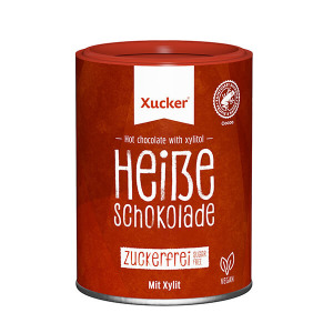 XUCKER Hot Chocolate Topseller, Trinkschokolade XUCKER 200 g Dose