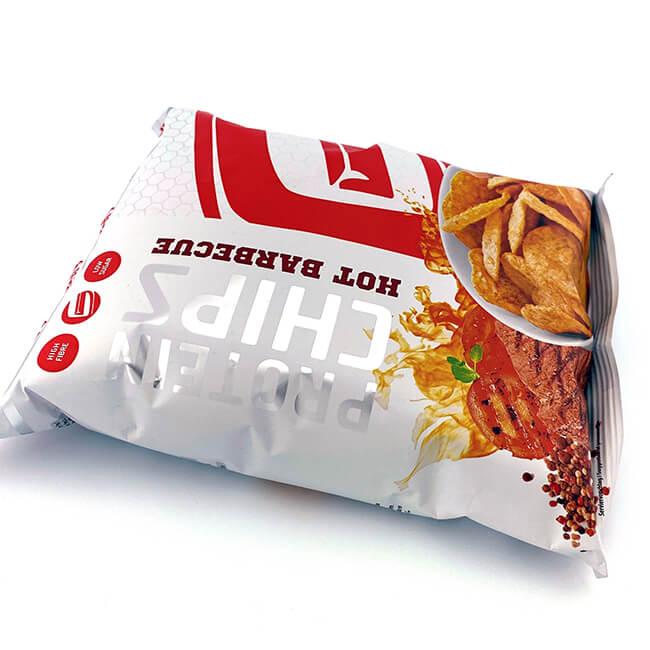 """GOT7 High Protein Chips """"Hot Barbecue"""" Beutel 50 g, Protein Chips kaufen. Protein Chips bestellen. Protein Chips Österreich, Protein Chips Deutschland kaufen, Knabbergebäck"""
