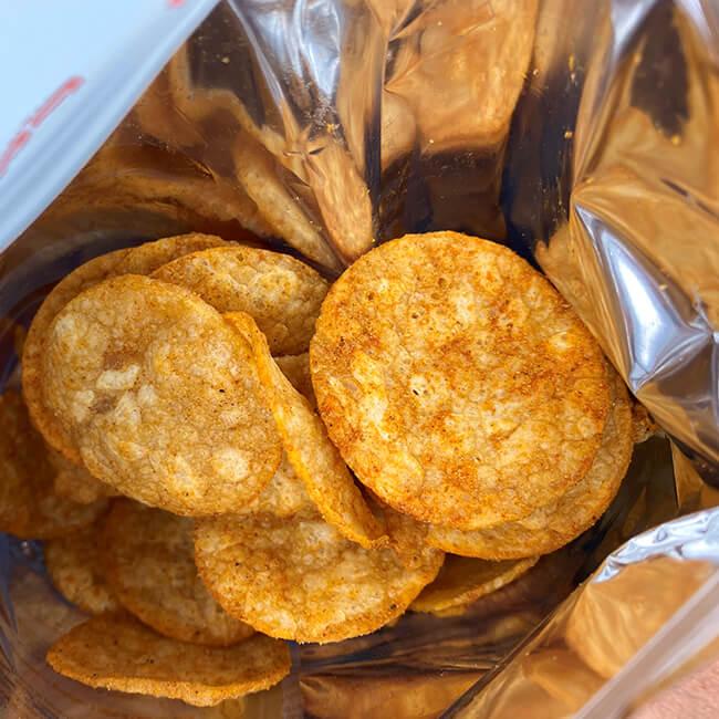 """GOT7 High Protein Chips """"Hot Barbecue"""" Beutel 50 g, Protein Chips kaufen. Protein Chips bestellen. Protein Chips Österreich bestellen, Protein Chips Deutschland kaufen"""