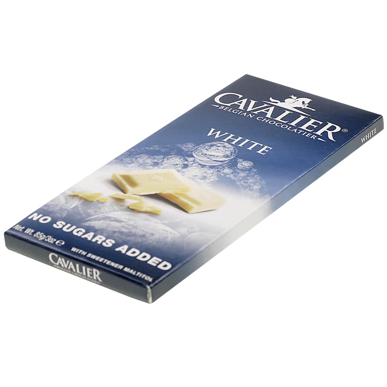 """Cavalier Schokolade """"Weiss"""" 85 g Tafel"""