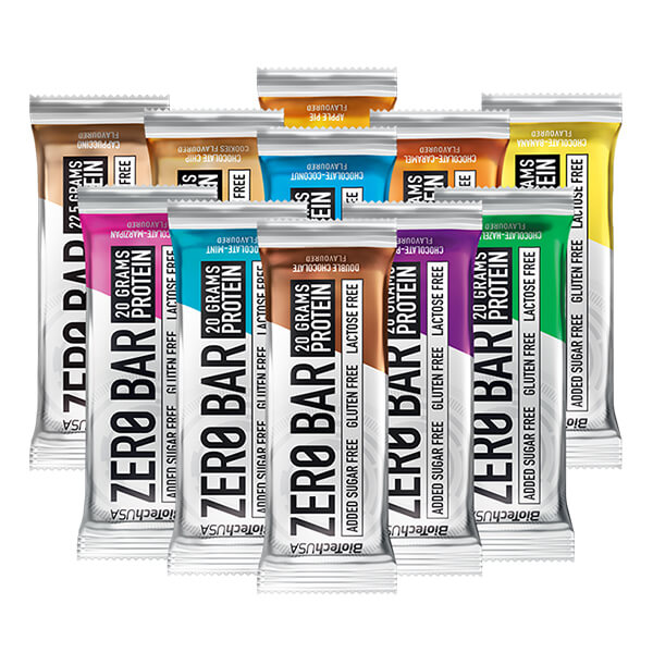 Biotech USA Zero Bar Schokolade-Chip Cookies Proteinriegel 50 g
