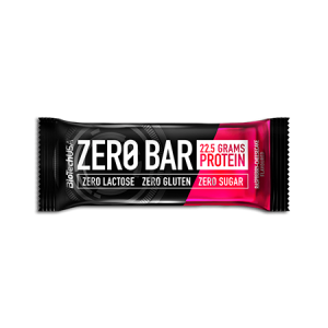Biotech USA Zero Bar Himbeere-Cheesecake Proteinriegel 50g zuckerfrei Low Carb. Zero Bar Biotech kaufen. 42% Proteingehalt im Eiweißriegel von Biotech USA!