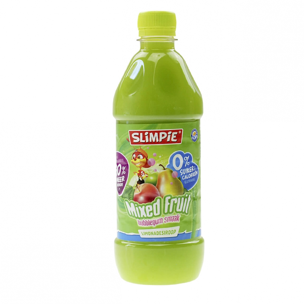 "Slimpie Zuckerfreier Limonaden-Sirup ""Mixed Fruit"" 580 ml"