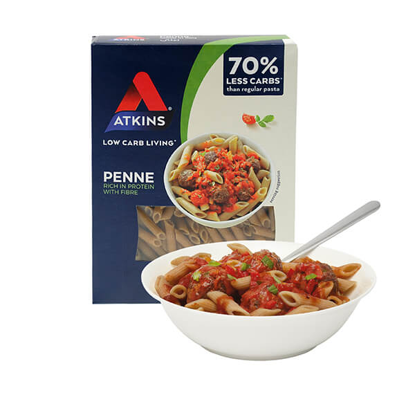 ► Unser Topseller! ◄ Atkins Cuisine Pasta Box Penne Proteinnudeln 250 g