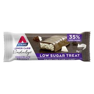 Atkins Endulge Bar Chocolate Coconut 35 g kaufen. Atkins Riegel, Low Carb kaufen. Low Carb Riegel mit über 3g Eiweiß kaufen. Atkins Riegel Schoko Kokusnuß