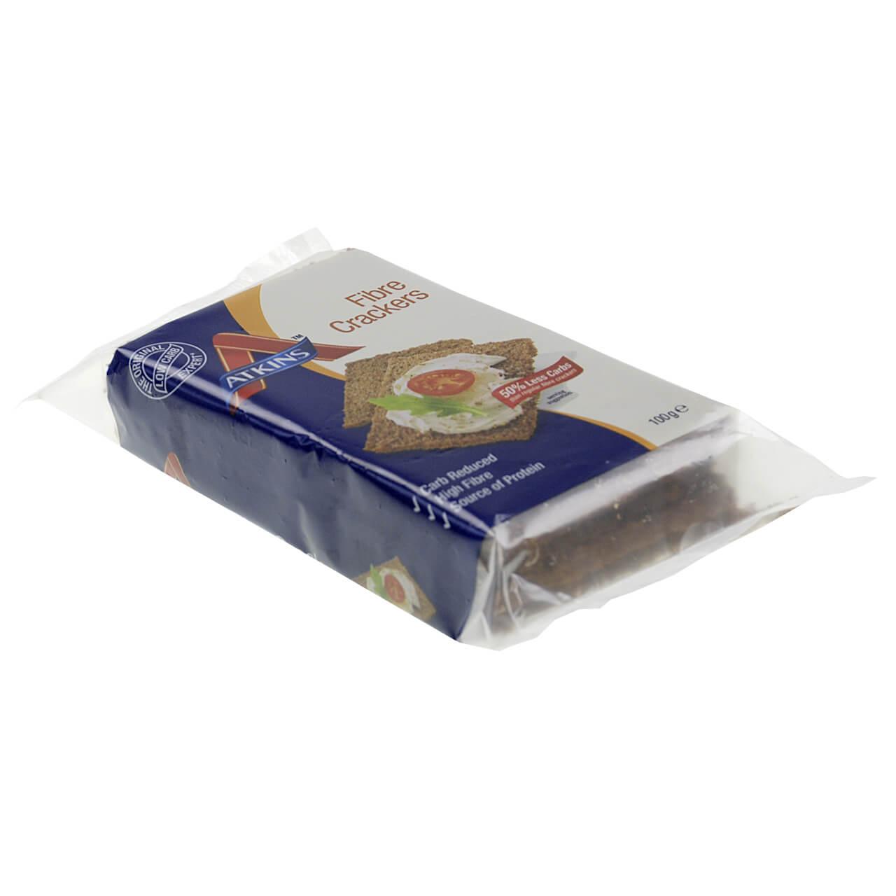 "Atkins Knäckebrot ""Fibre Crackers"" 100 g, Atkins Knäckebrot kaufen, Atkins Knäckebrot online bestellen im Shop"