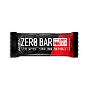 Biotech USA Zero Bar Banane-Erdbeere Proteinriegel 50 g. Low Carb & zuckerfrei! Whey Isolat Eiweißriegel. Zero Bar Biotech kaufen. Eiweißriegel: 20g Protein