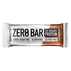 Biotech USA Zero Bar Double Chocolate Proteinriegel 50 g, Zero Bar Double Chocolate kaufen, Zero Bar kaufen