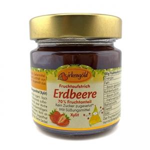 Birkengold Fruchtaufstrich Erdbeer mit Xylit ♛ Bestseller Birkengold Fruchtaufstrich kaufen. Ohne Zucker Zusatz. Gesüßt mit Xylit (Birkenzucker)! Birkengold