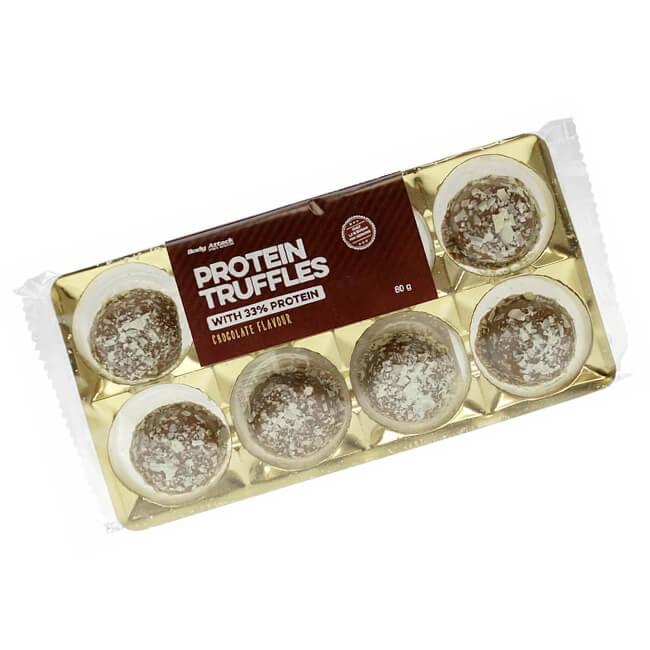"Body Attack Protein Low Carb Truffles Trüffelpralinen ""Schokolade"" 80 g. Schokolade ohne Zucker kaufen. Cavalier Schokolade ohne Zucker kaufen."