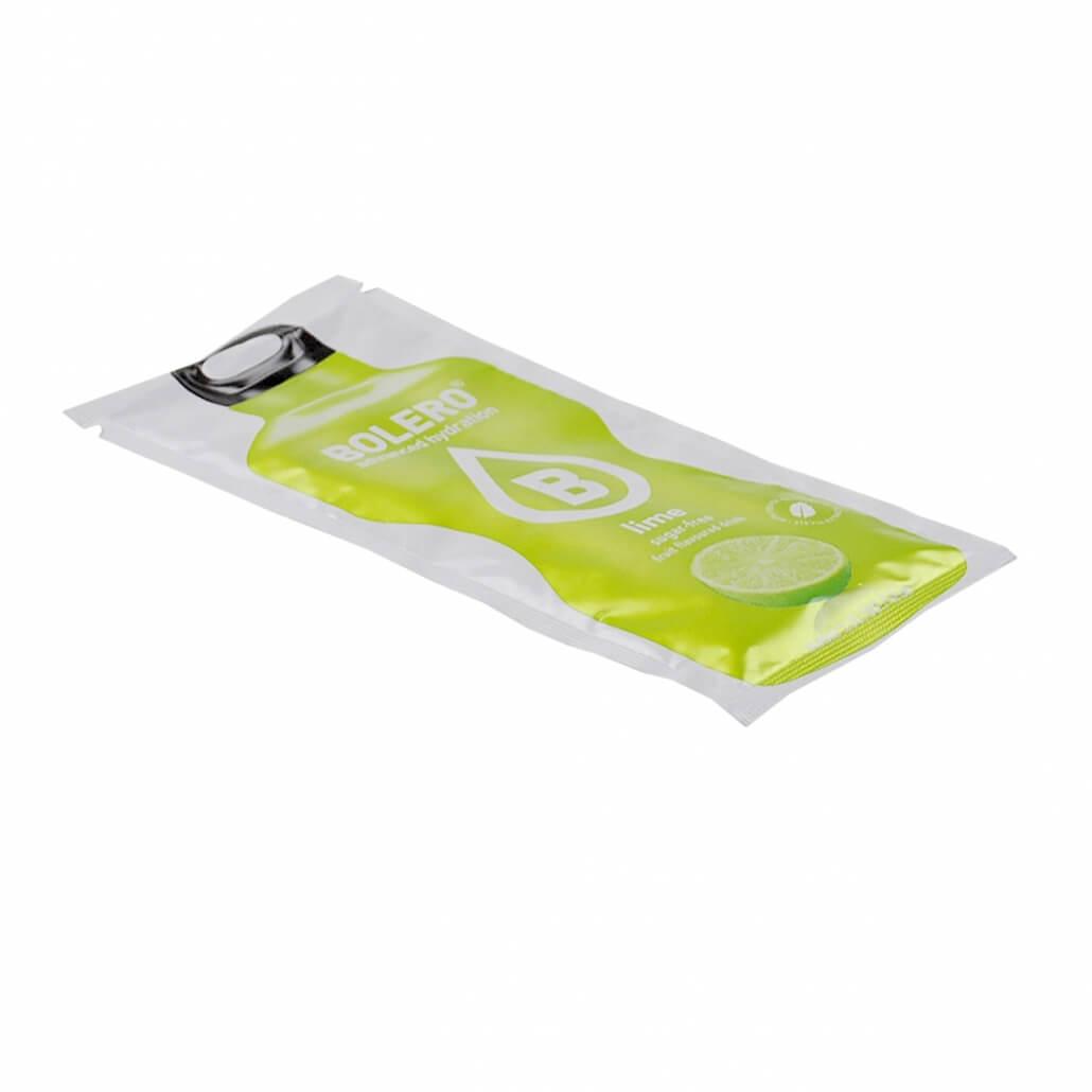 """Bolero Instant Erfrischungsgetränkepulver 9 g Beutel Exotic """"Lime"""" (Limette) für 1,5 l fertiges Getränk"""
