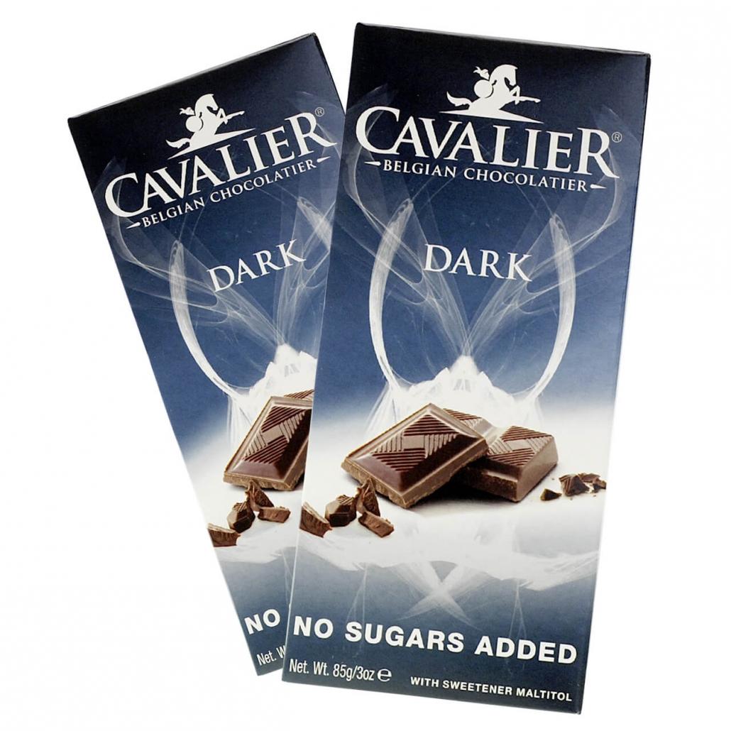"Cavalier Schokolade ""Edelbitter - Dark"" 85 g Tafel"