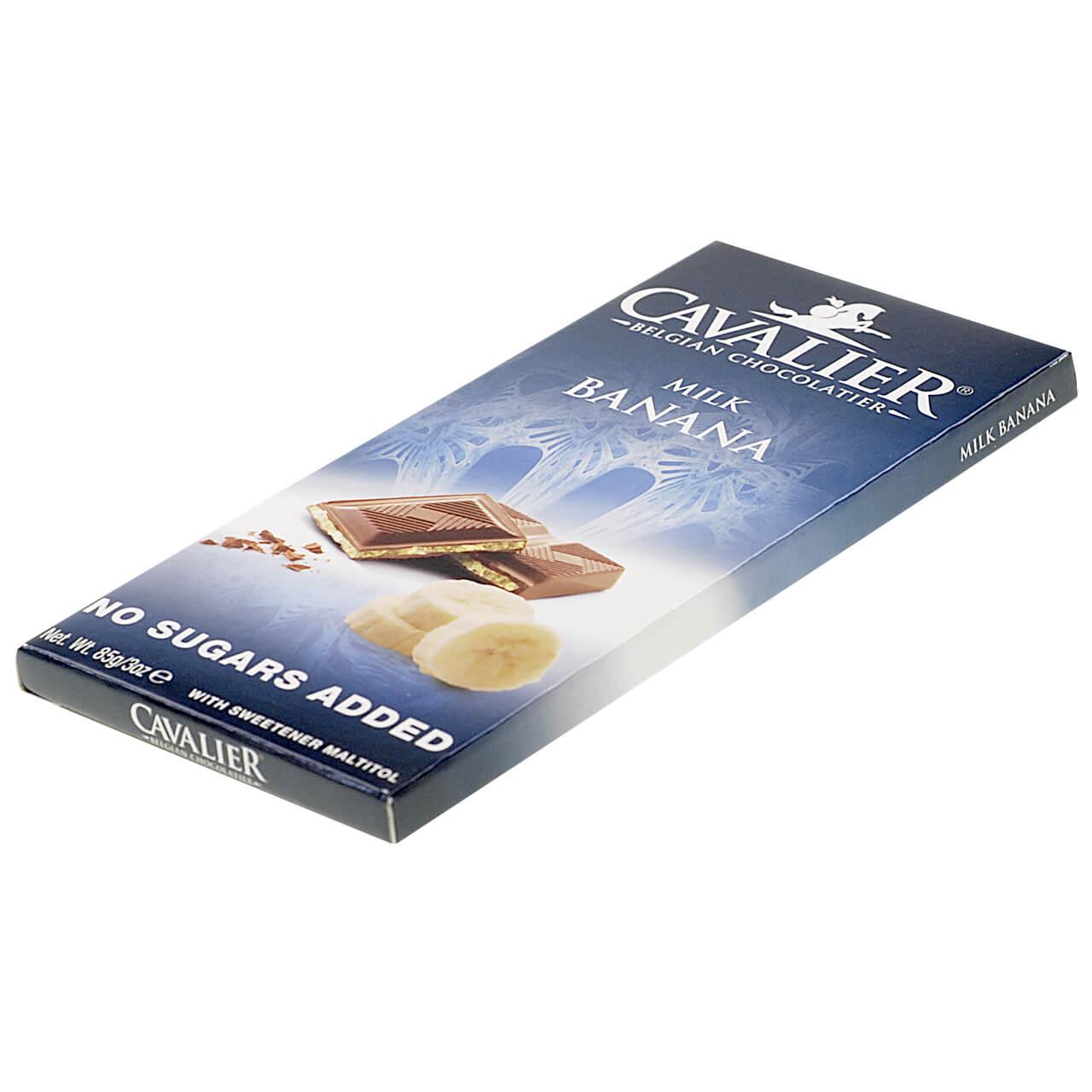 "Cavalier Schokolade ""Milch Banane"" 85 g"