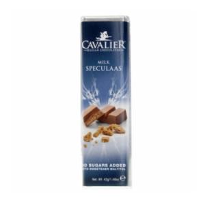 Cavalier Schokoriegel Milch Spekulatius 42 gr. / Cavalier Schokoriegel bestellen. Sorte Milch Spekulatius. Low Carb Schoko. Im Zucker-frei Shop kaufen.