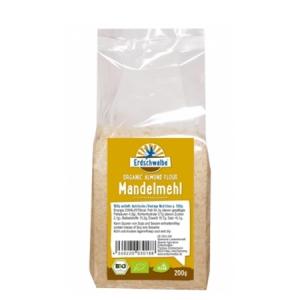 Erdschwalbe naturbelassenes Bio-Mandelmehl 200 g Beutel