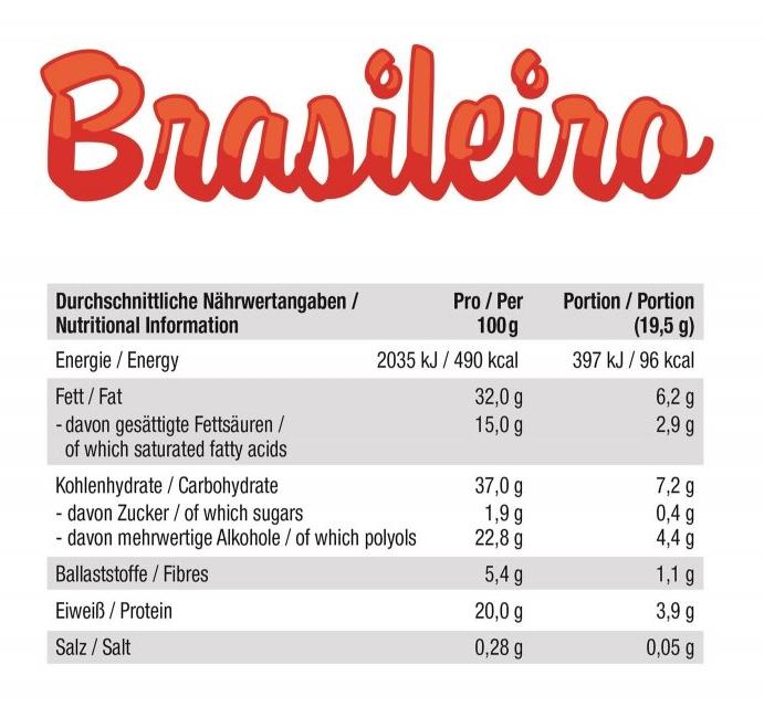 GOT7 Brasileiro glutenfreie Waffel mit proteinreicher Kakaocreme und Haselnüssen 3er Pack. Zuckerfreie Waffeln kaufen, Waffeln ohne Zucker kaufen. GOT7 Waffeln kaufen.
