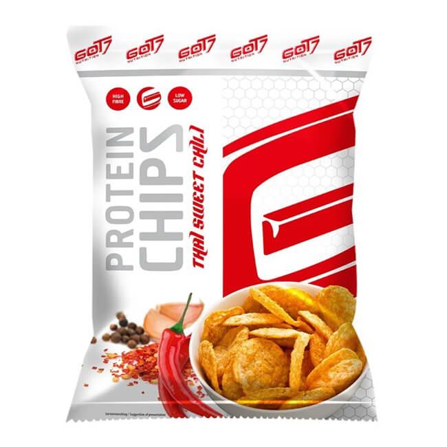 GOT7 High Protein Chips Thai Sweet Chili Beutel 50 g / Protein Chips kaufen, Protein Chips bestellen. Protein Chips Österreich, Protein Chips Deutschland kaufen