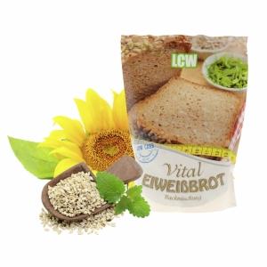LCW Backstübchen Vitalbrot Backmischung Low Carb 360 g. Low Carb Brot kaufen. Leicht zuzubereiten, Low Carb, 15,6 g Eiweiß. LCW Vitalbrot im Online Shop!