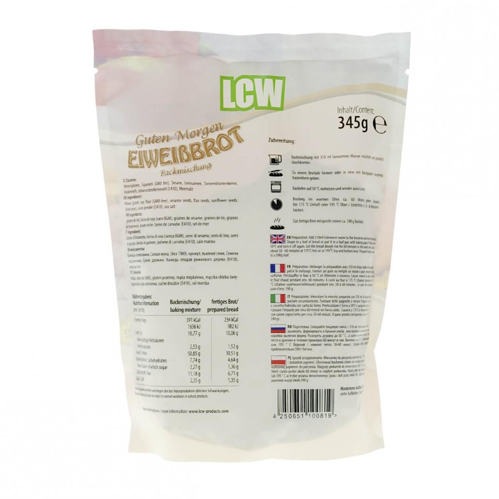 """LCW Backstübchen """"Guten Morgen"""" Brotbackmischung 590 g"""
