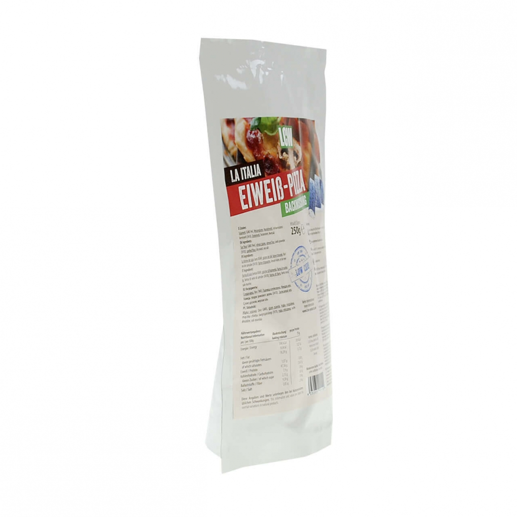 """LCW Backstübchen """"La Italia"""" Low Carb Pizzamischung 250 g. Low Carb Pizzamischung kaufen. Low Carb Pizzamischung bestellen"""