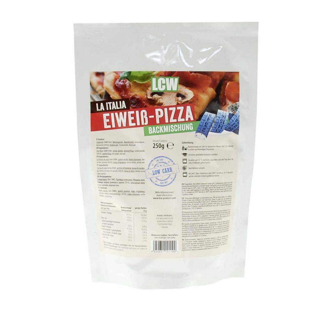 LCW Backstübchen  La Italia Low Carb Pizzamischung. Low Carb Pizzamischung online kaufen