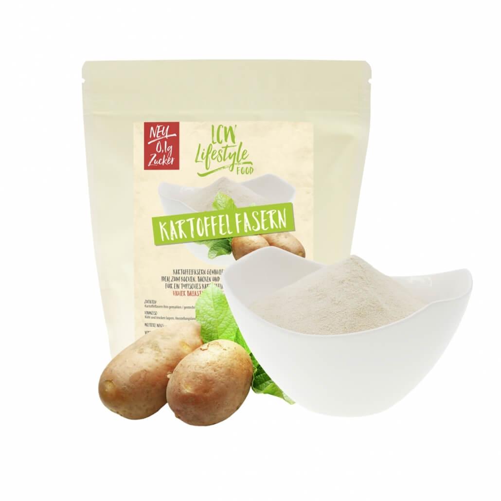 LCW Kartoffelfasern 500 g Beutel