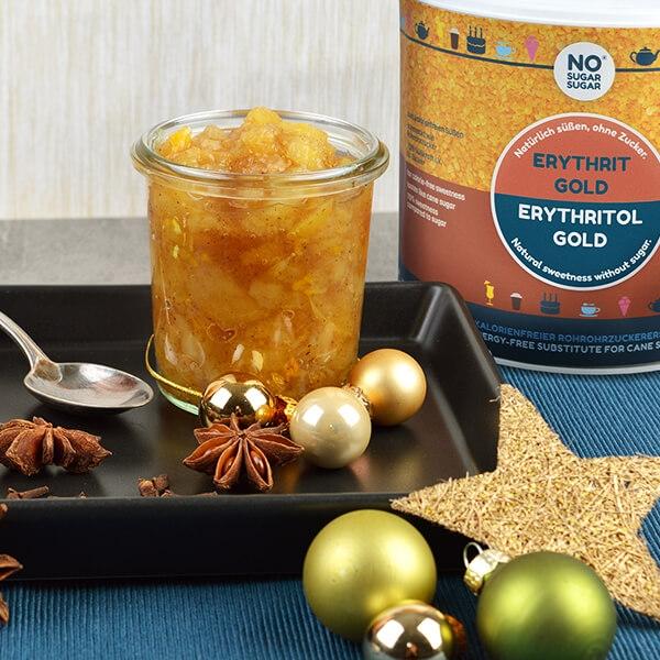 No Sugar Sugar Golden Sweet Rohrzuckerersatz 400 g Beutel. Rohrzucker Ersatz, Brauner Zucker No Sugar Sugar kaufen.