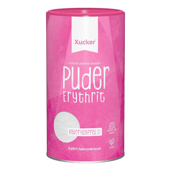 Puderxucker (Erythrit). Tafelsüße in Puderform, 600 g Dose Puder-Xucker kaufen!. Puderxucker. Iealer Staubzucker Ersatz! Für Diabetiker, LCHW & Low-Carb!