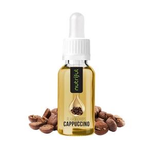 Nutriful Flavor Drops Cappuccino kaufen. Nutriful Flavor Drops Cappuccino. Nutriful Flavor Drops Cappuccino - Kalorien freies Geschmackskonzentrat kaufen.