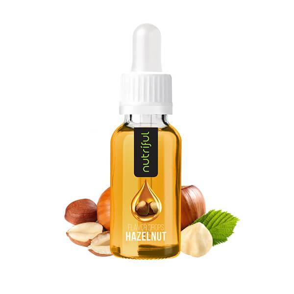 Nutriful Flavor Drops Haselnuss, 30ml kaufen. Nutriful Flavor Drops Haselnuss Shop. Kalorienfreies Geschmacksmittel für Getränke & Speisen online kaufen.