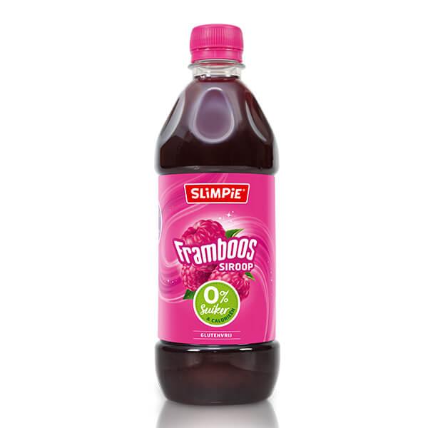 Slimpie Zuckerfreier Limonaden-Sirup Himbeere 580ml, 7 Liter zuckerfreies Getränk. Zuckerfreie Limonade gesüßt mit Sucralose! Zuckerfreie Getränke kaufen!