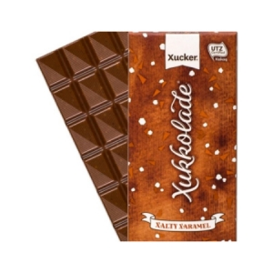 "Xylit Schokolade mit Salz und Karamell Xucker, ★ Sonderangebot ★ Xylit-Schokolade mit Salz und Karamell (""Xalty Xaramel"") 100 gr. Tafel MHD 06/2018"