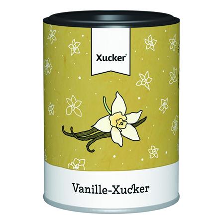 Xylit Vanille-Xucker mit 20% Vanillepulver 90 g, Xylit Vanille-Xucker mit 20% Vanillepulver 90 g Dose
