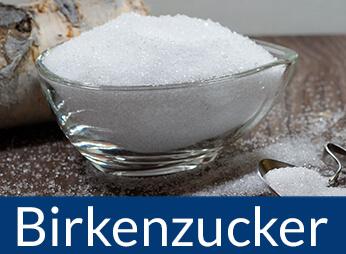 Lebensmittel & Produkte gesüßt mit Birkenzucker, Birkenzucker kaufen, Birkenzucker bestellen