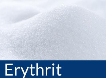 Zuckerfreie Lebensmittel gesüßt mit Erythrit, Erythrit kaufen
