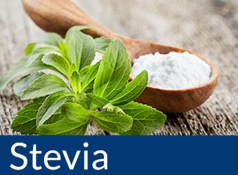 Zuckerfreie Produkte gesüßt mit Stevia, Stevia kaufen, Stevia bestellen