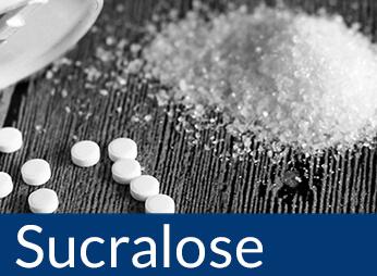 Zuckerfreie Lebensmittel gesüßt mit Sucralose, Sucralose kaufen, Sucralose bestellen
