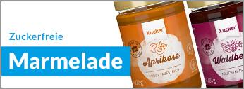 LCHF, Low Carb High Fat, zuckerfreie Marmelade