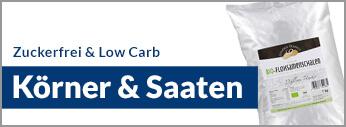 Zuckerfrei Online Shop, Low Carb Körner und Saaten