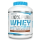 BioTech USA 100% Pure Whey 2270 g Proteinpulver, BioTech USA 100% Pure Whey Schokolade, BioTech USA 100% Pure Whey vanille, BioTech USA 100% Pure Whey erdbeere