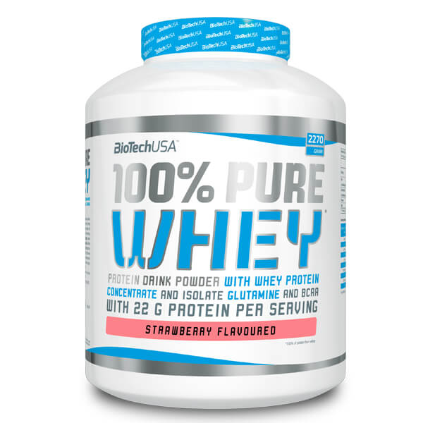 BioTech USA 100% Pure Whey Erdbeere, BioTech USA 100% Pure Whey Strawberry, BioTech USA 100% Pure Whey kaufen