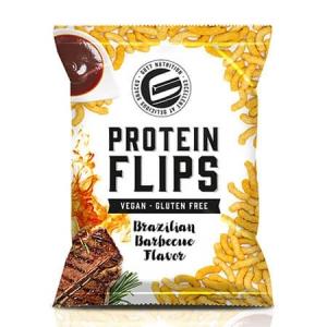 GOT7 Protein Flips Brazilian Barbecue 50g. GOT7 Protein Flips kaufen, glutenfrei, vegan, kalorienarm, Kohlenhydrate reduziert. Low Carb Protein Chips kaufen. Protein chips kaufen, proteinchips online kaufen