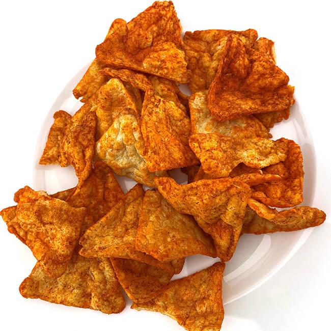 GOT 7 Protein Nachos mit Paprika Geschmack. Protein Knabbergebäck online kaufen im Shop