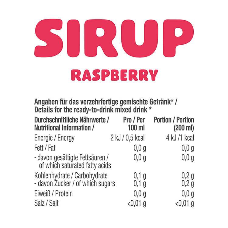 GOT7 zuckerfreier Sirup raspberry Himbeere 750 ml kaufen im Onlineshop. GOT7 zuckerfreier Sirup ohne Zucker Zusatz, gesüßt mit Sucralose. GOT7 Sirup kaufen