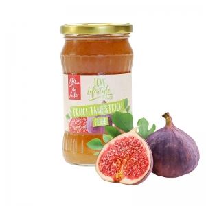 LCW Gourmet Fruchtaufstrich Feige. Fantastisch süß & fruchtig, ohne Zuckerzusatz, kalorienarm, hoher Fruchtgehalt: 136 g Früchte / Feige in einem Glas 340 g