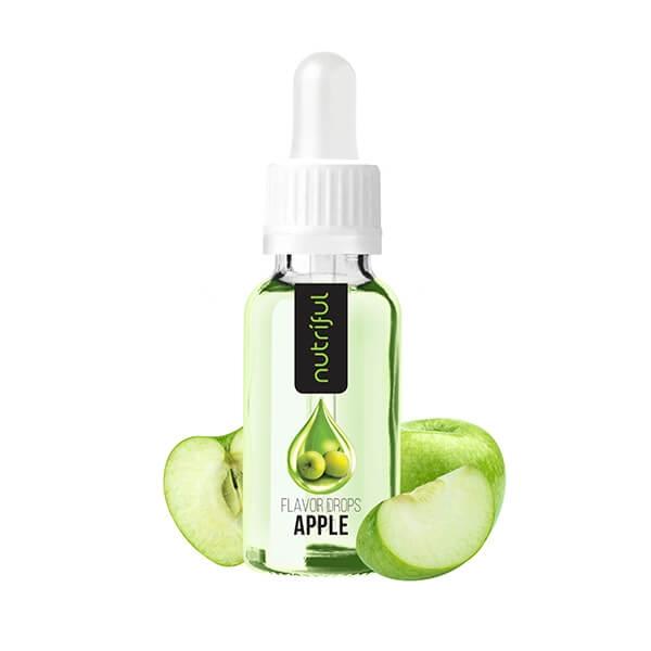 Nutriful Flavor Drops Apfel kaufen. Nutriful Flavor Drops 30 ml ist ein kalorienfreies Geschmackskonzentrat. Nutriful Flavor Drops Apfel online kaufen
