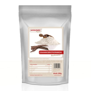 Konzelmanns Original Johannisbrotkernmehl 200 g Beutel online kaufen. Konzelmanns Original Johannisbrotkernmehl - der vitaminreiche Low Carb Mehl Ersatz.