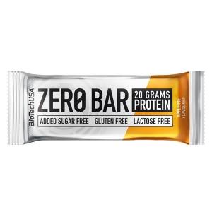 BioTech USA Zero Bar Apple Pie Apfelkuchen Proteinriegel 50 g online kaufen. Zero Bar Eiweißriegel zuckerfrei mit Whey Isolat Protein kaufen. 20 g Eiweiß