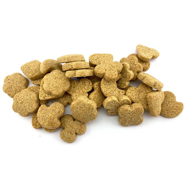 Birkengold Dinkel Vollkorn Kekse nur 466 kcal pro 100 g. Aroma von zarter Vanille und Zimt – Naschen ohne Reue! 125 g Gebäck sind ca. 27 Stück Kekse!